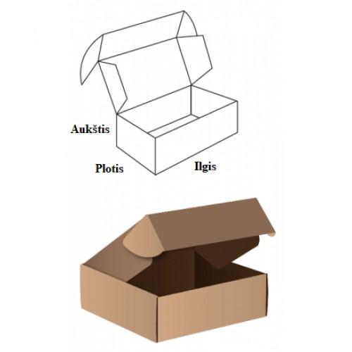 Dėžė S dydžio paštomatams