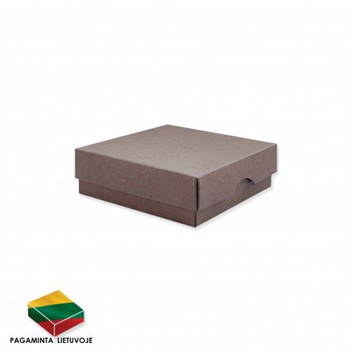 Dviejų dalių dėžutė 90x90x30 mm