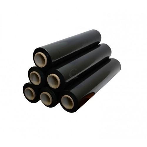 Pakavimo plėvelė Stretch 500mmx200m/17my (juoda)