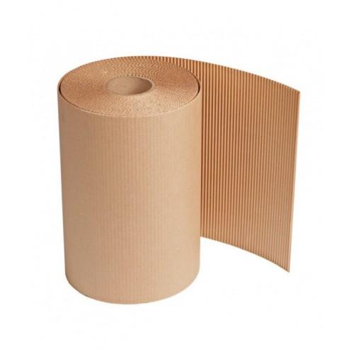 Gofruotas kartonas rulonais 1m x 80m (80 m2)